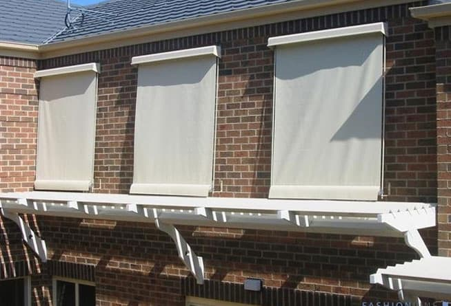 Straight Drop Awnings 14